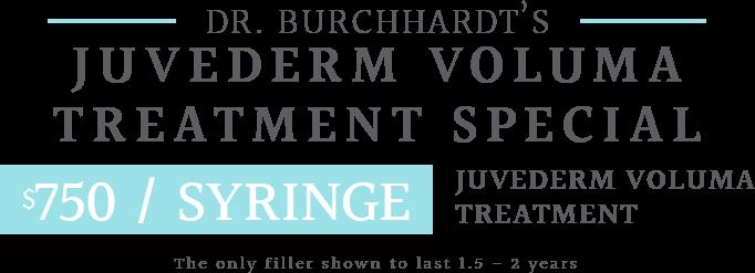 Juvederm Special Text