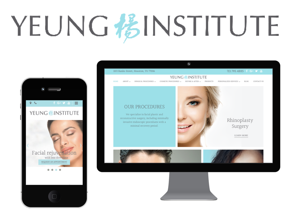 Yeung Institute facial plastic new website launch